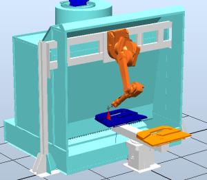 หุ่นยนต์พ่นสี IRB-580